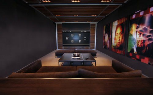 Our home theater installers finished product